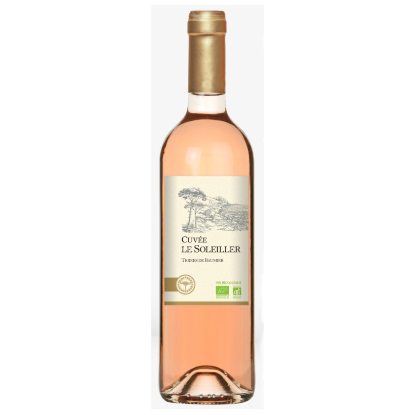 Terroirs Vivants Le Soleiller 2015 Rosé 75cL