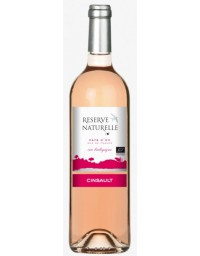 Terroirs Vivants Réserve Naturelle Cinsault 2015 Rosé 75cL