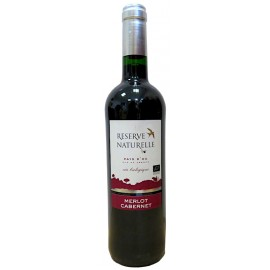Terroirs Vivants Réserve Naturelle Merlot Cabernet Rouge 75cL