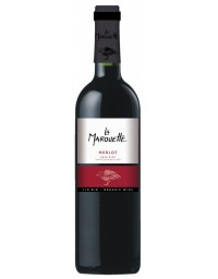 Terroirs Vivants La Marouette Merlot Rouge 75cL