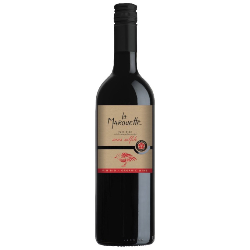 Terroirs vivants marouette sans sulfites Rouge 75cL